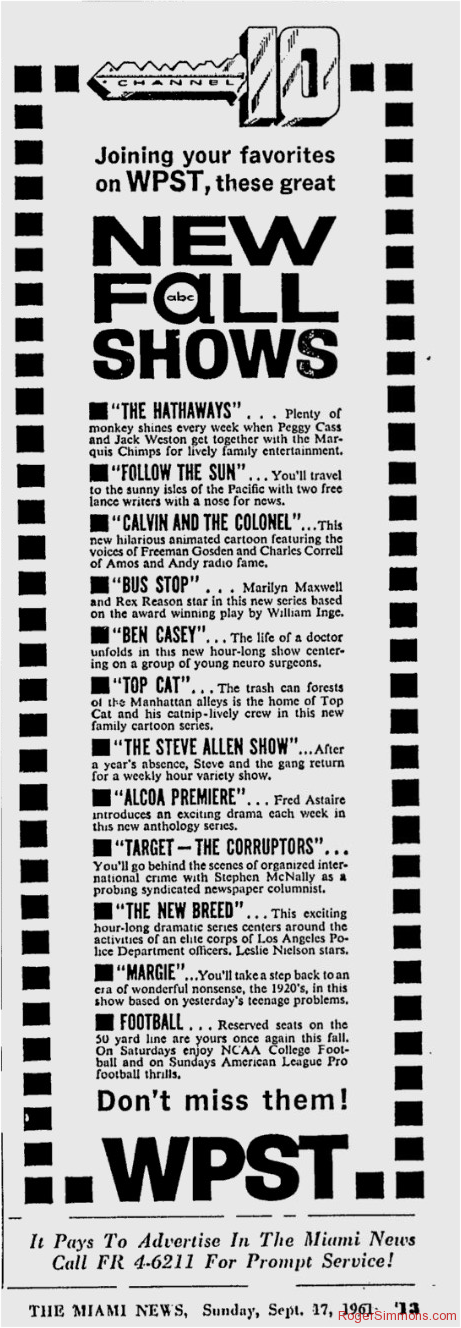 1961-09-wpst-new-fall-shows