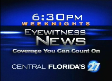 WFTV Eyewitness News at 6:30 on WRDQ