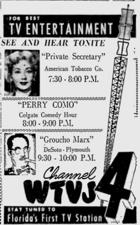 1953-12-wtvj-private-secretary