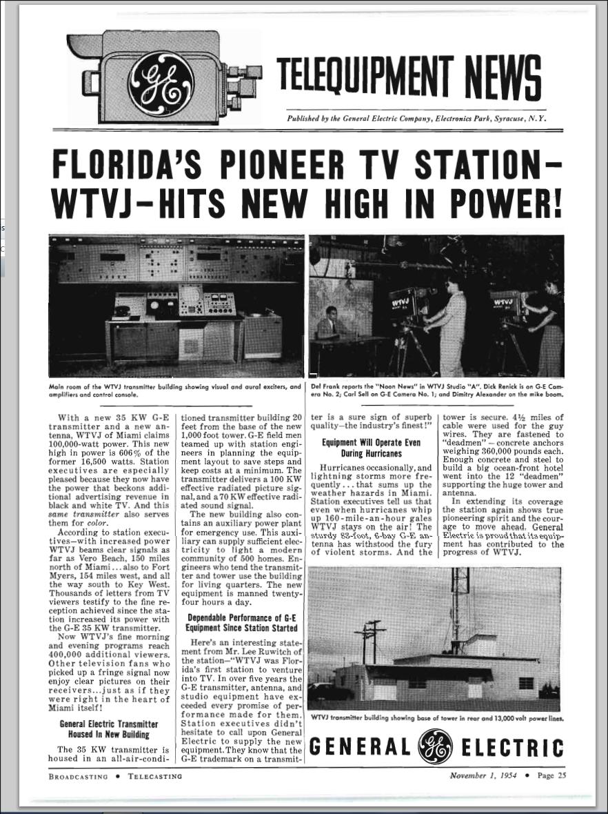 1954-11-wtvj-transmitter