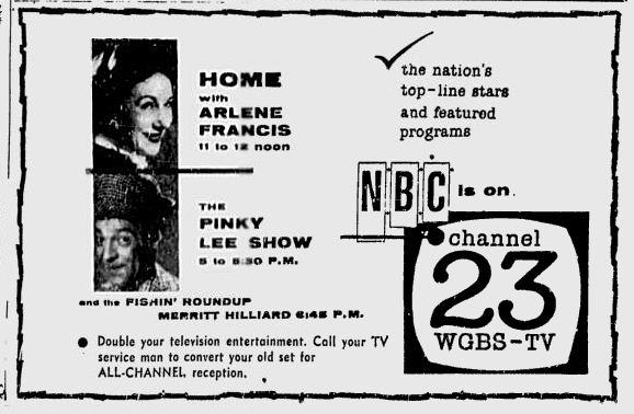 1955-01-wgbs-lineup-today-2-nbc-3
