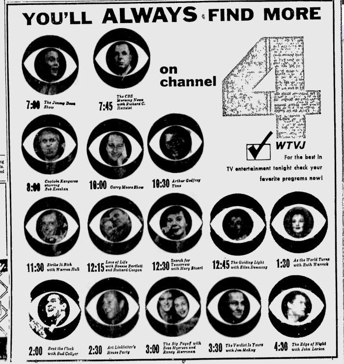 1957-11-wtvj-cbs-shows