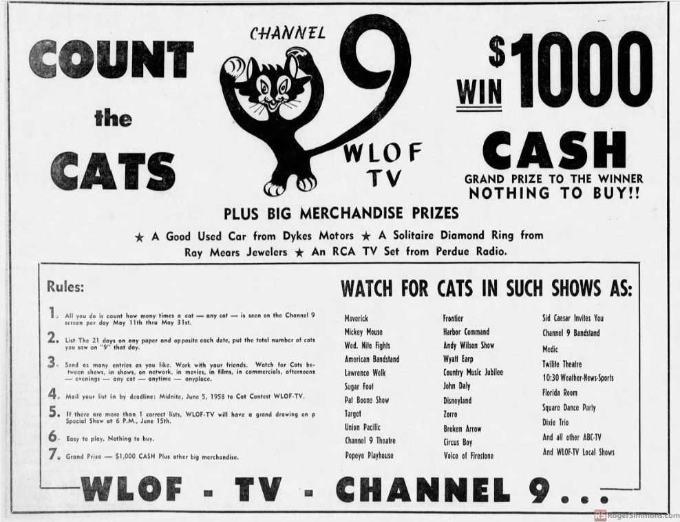 1958-05-wlof-count-the-cats