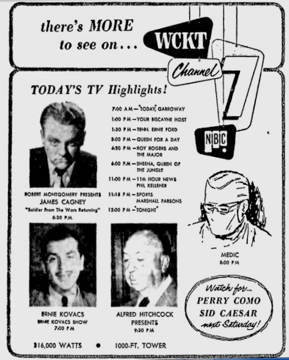 1958-09-10-wckt-highlights