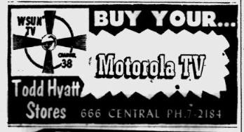 1953-05-31-wsun-tv-ad
