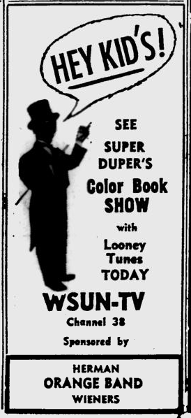 1955-05-03-wsun-color-book-show