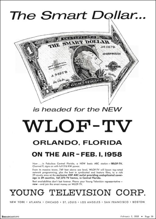 1958-02-03-wlof-broadcasting-magazine