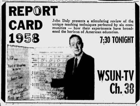 1958-05-05-wsun-report-card