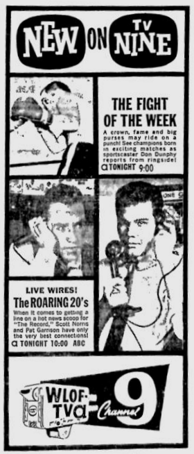 1960-10-wlof-new-on-9-abc-shows