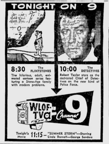 1961-02-17-wlof-flintstones