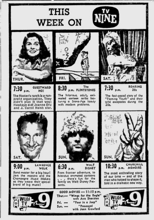 1961-02-23-wlof-this-week-on-9