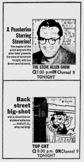 1961-09-wlof-steve-allen-top-cat