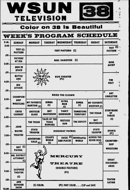 1968-11-04-wsun-schedule