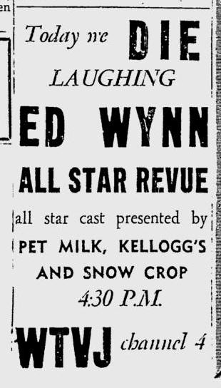 1951-10-wtvj-ed-wynn-show