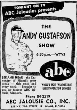 1954-09-wtvj-andy-gustafson-show