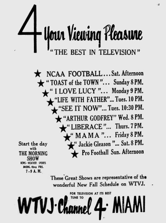 1954-09-wtvj-fall-schedule