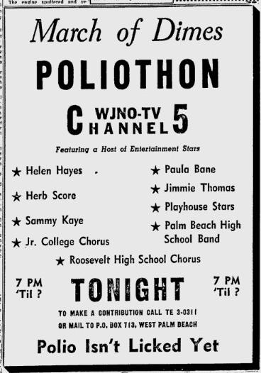1956-02-06-wjno-poliothon