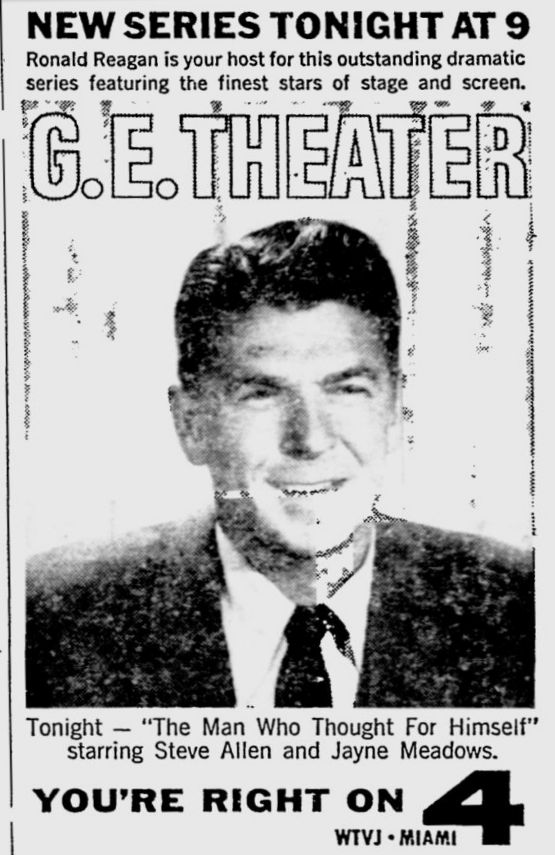 1960-09-18-wtvj-ge-theater-ronald-reagan
