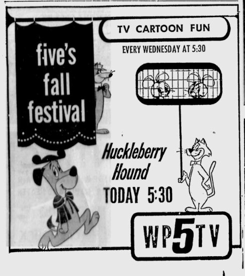 1964-09-01-wptv-hucklebery-hound
