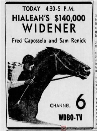1955-02-wdbo-hialeah-horse-racing