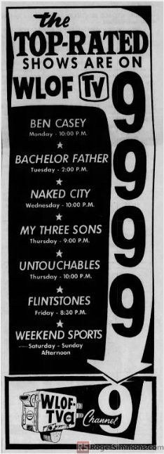 1962-02-wlof-top-rated-shows